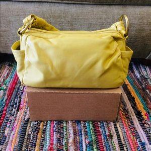 COACH Authentic Parker Leather Hobo Shoulder Bag